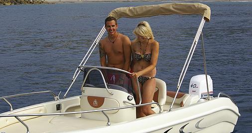 Garda Lake Lazise Boat Jaguar 18