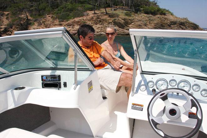 Motorboot Gardasee Bowrider 175