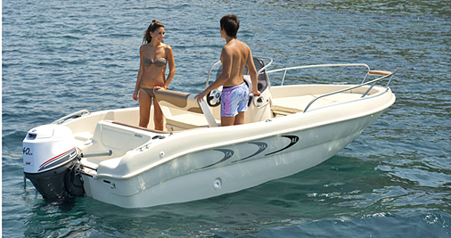 Sportboote Gardasee Monella 18