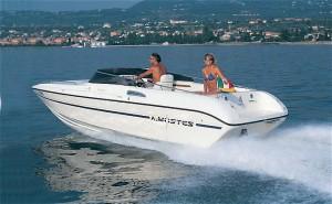 Garda Lake Rent Boat venere 23.4