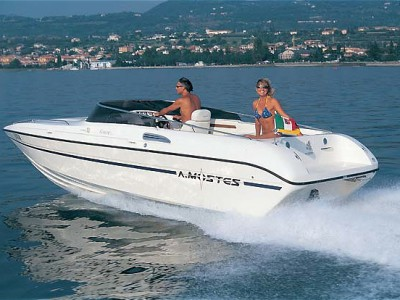 Garda Lake Rent Boat venere 23.4
