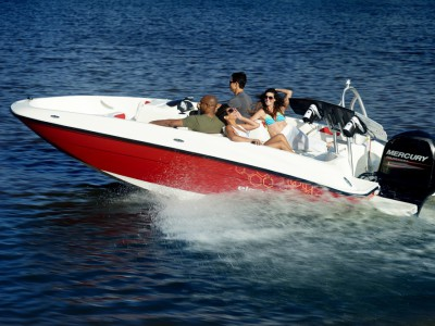 Boat Rent Garda Lake Bayliner Element XL