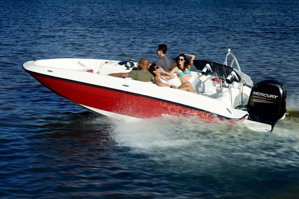 Boat Rent Garda Lake Bayliner Element XL