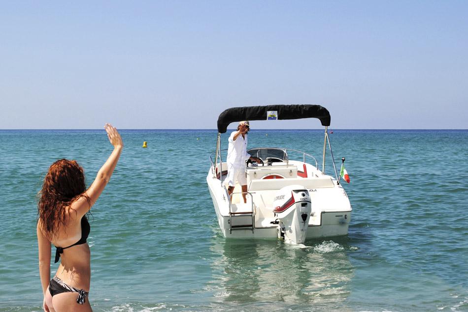 T.A. MARE Nuvola 20 Open Noleggio barche Lago di Garda